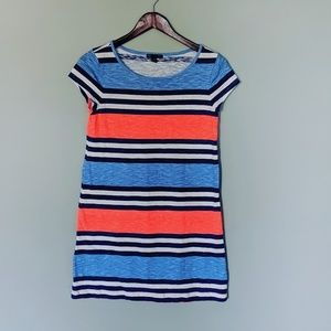 GAP Heathered Stripe T-shirt Comfy Dress